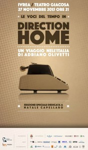 Direction Home Ivrea 27 novembre
